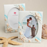 Sea Themed Picture Frame Table Number HolderSea Themed Picture Frame Table Number Holder