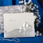 Interlocking Hearts Design Wedding Guest BookInterlocking Hearts Design Wedding Guest Book