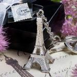 Paris Eiffel Tower Key Chain FavorsParis Eiffel Tower Key Chain Favors