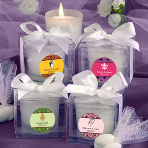 Solefavor's Personalised Expressions Collection Candle FavorsSolefavor's Personalised Expressions Collection Candle Favors