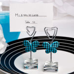 Butterfly Design Place Card, Photo Holders
