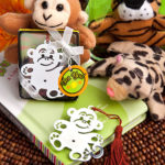 Jungle Critters Collection Mon Key Book MarksJungle Critters Collection Mon Key Book Marks