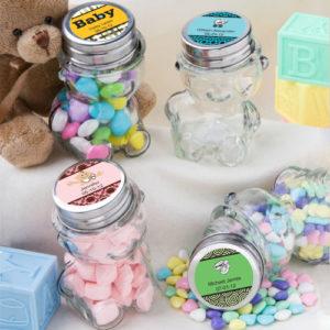 Personalised Teddy Bear JarsPersonalised Teddy Bear Jars