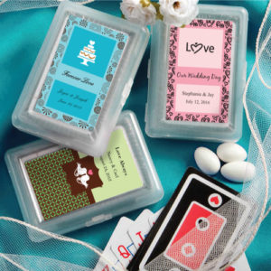 Personalised Expressions Playing Card FavorsPersonalised Expressions Playing Card Favors