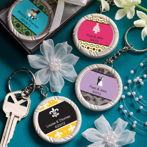 Personalised Expressions Collection Key Ring FavorsPersonalised Expressions Collection Key Ring Favors