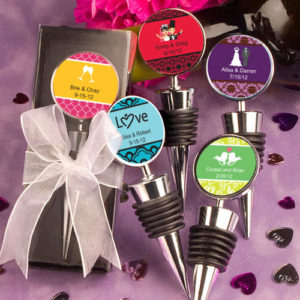 Personalised Expressions Collection Wine Bottle Stopper FavorsPersonalised Expressions Collection Wine Bottle Stopper Favors