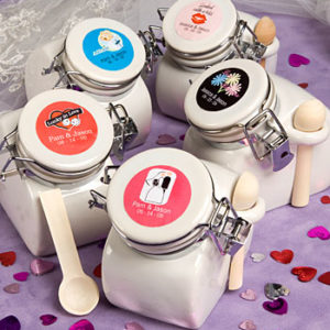 Personalised Expressions Collection Ceramic Jar FavorsPersonalised Expressions Collection Ceramic Jar Favors