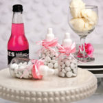Perfectly Plain Collection Pink Baby Bottle FavorsPerfectly Plain Collection Pink Baby Bottle Favors