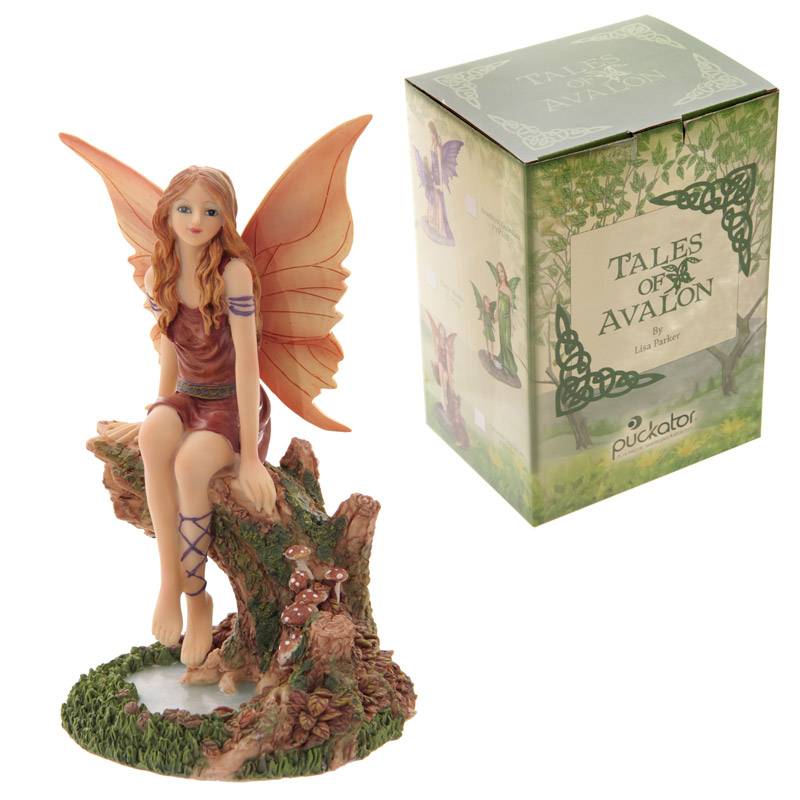Autumn Daydream Collectable Tales of Avalon Fairy