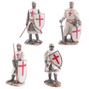 Battle Ready Novelty Crusader Knight Figurine