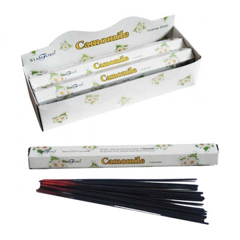 Camomile Stamford Hex Incense Sticks