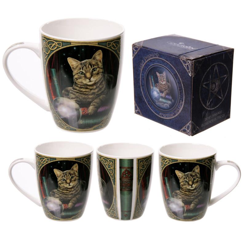 Cat Fortune Teller Lisa Parker Designed New Bone China Mug