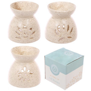 Ceramic Speckled Pattern Oil Burner