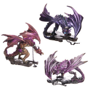 Chained Dark Legends Dragon Figurine