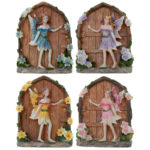 Collectable Flower Fairy Figurine - Secret Fairyland Door
