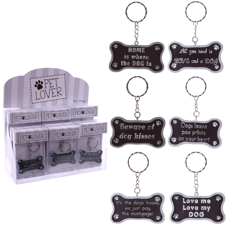 Collectable Pet Lover Gift - Keyring