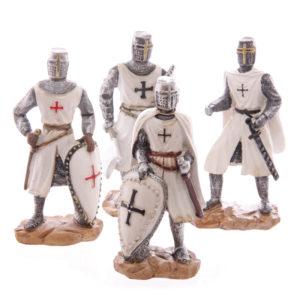 Crusader Knight Novelty Figurines