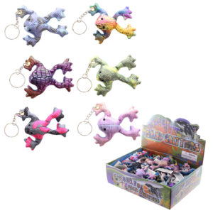 Cute Collectable Frog Design Sand Animal Keyring