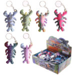 Cute Collectable Lobster Design Sand Animal Keyring