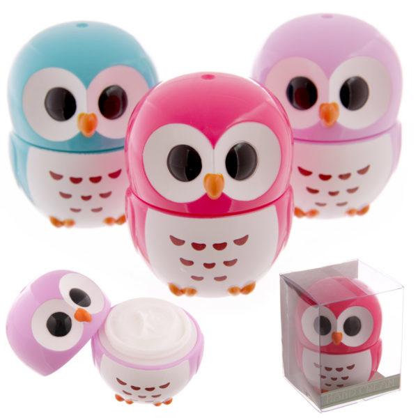 Cute Owl Design Hand Cream