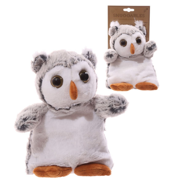 Cute Owl Design Snuggables Microwavable Warmer