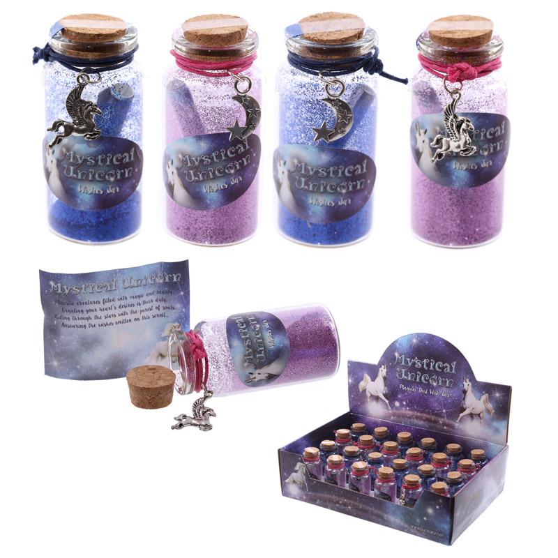 Cute Unicorn Mini Wishing Jar