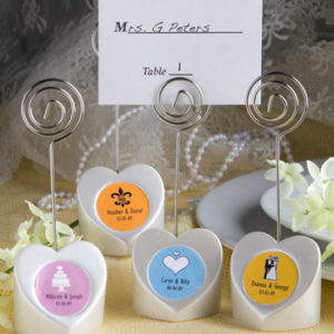 Heart Shaped Place Card HoldersHeart Shaped Place Card Holders