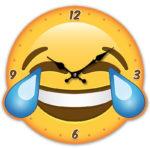 Decorative Emotive LOL Wall Clock