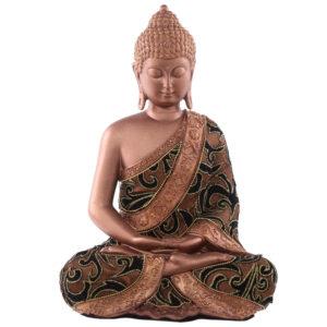 Decorative Fabric Effect Thai Buddha Sitting Large