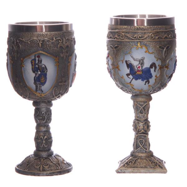 Decorative Fantasy Knight Goblet