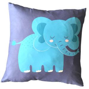 Decorative Fun Animal Cushion - Elephant