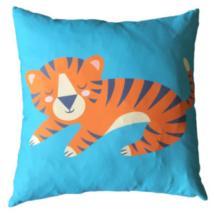 Decorative Fun Animal Cushion - Tiger
