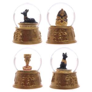 Decorative Gold Egyptian Waterball Snow Globe