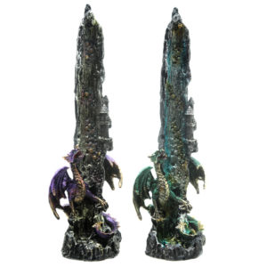 Decorative Incense Ashcatcher - Dragon Waterfall