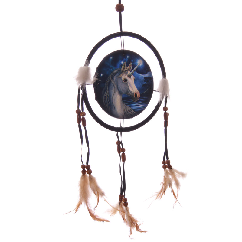 Decorative Mystical Unicorn 16cm Dreamcatcher