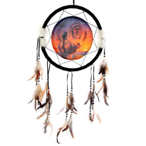 Decorative Native American Generations 34cm Dreamcatcher