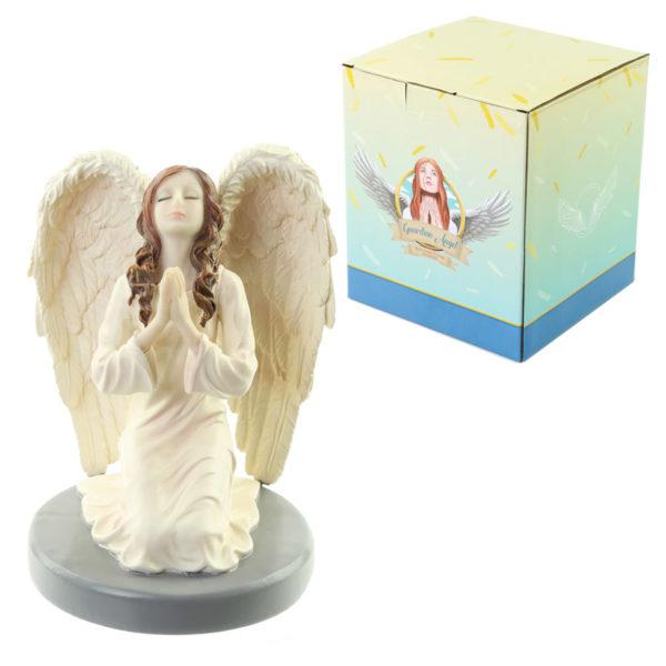 Divine Reflection Guardian Angel Figurine