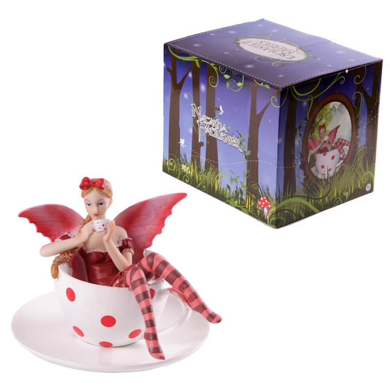 Enchanted Fairies Figurine - Tea Cup