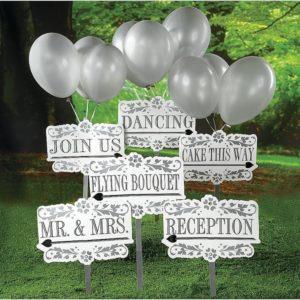 Reception Garden Signs KitReception Garden Signs Kit