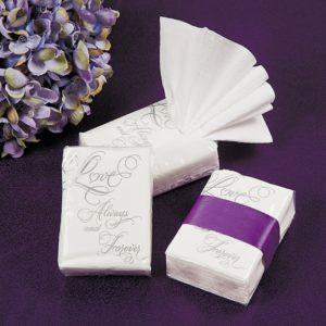 10 x Love Wedding Facial Tissue Packs10 x Love Wedding Facial Tissue Packs