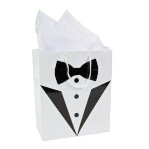 12 x Medium Wedding Tux Gift Bags12 x Medium Wedding Tux Gift Bags