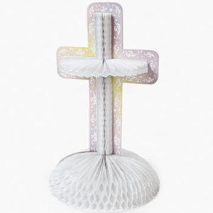 Inspirational Cross CenterpieceInspirational Cross Centerpiece