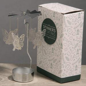 Fairy Design Metal Tealight Spinner
