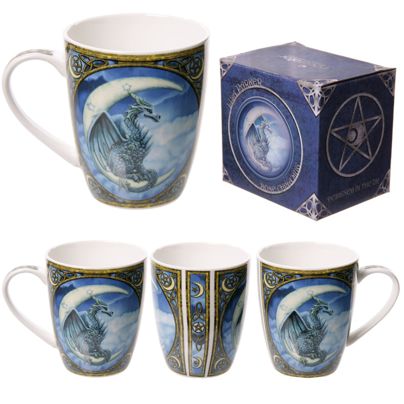 Fantasy Dragon Design New Bone China Mug