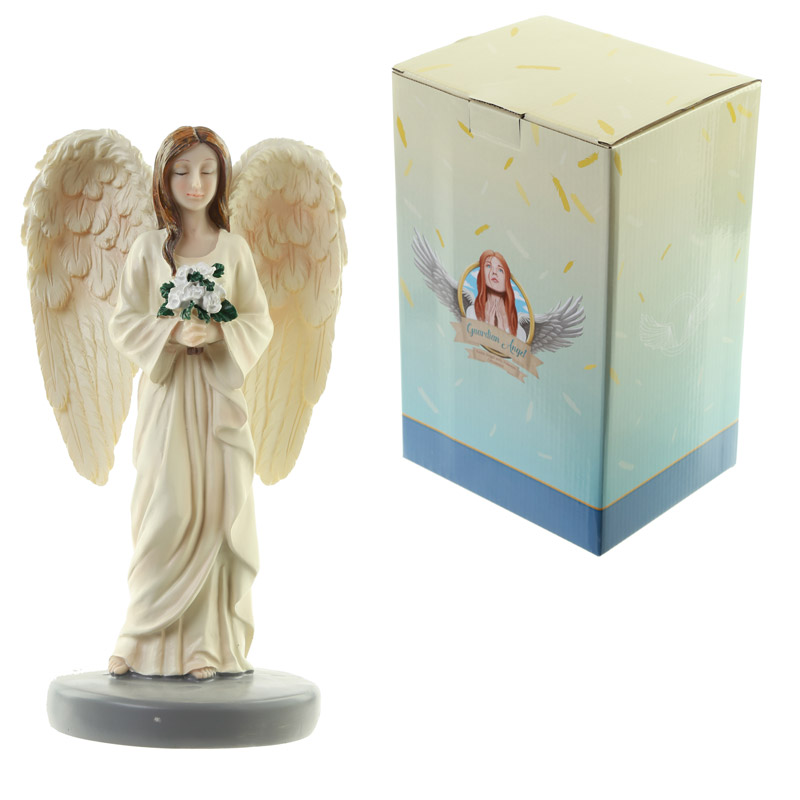 Flowers of Love Guardian Angel Figurine