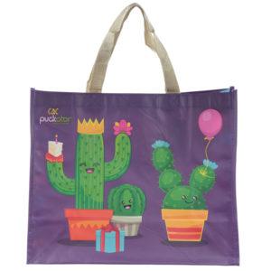 Fun Cactus Design Puckator 2017 Durable Reusable Shopping Bag