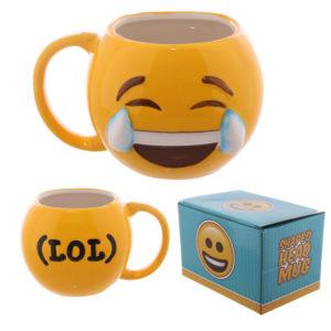 Fun Collectable Ceramic Joy LOL Emoti Mug