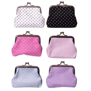 Fun Colourful Polka Dot Tic Tac Change Purse