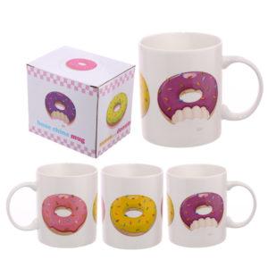 Fun Donut New Bone China Mug