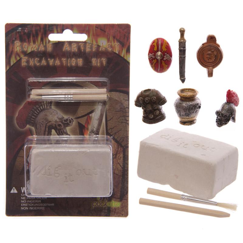 Fun Excavation Kit – Ancient Roman Treasure